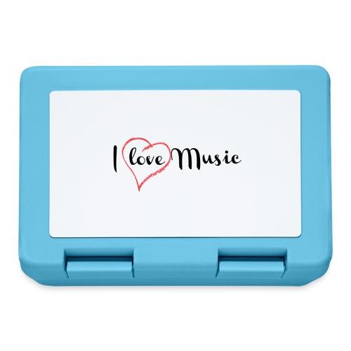 I Love Music - Lunch box