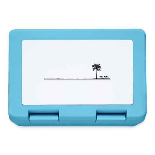 Palm dubai beach black and white - Lunch box