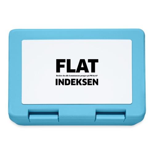 Jeg legger meg flat - Matboks