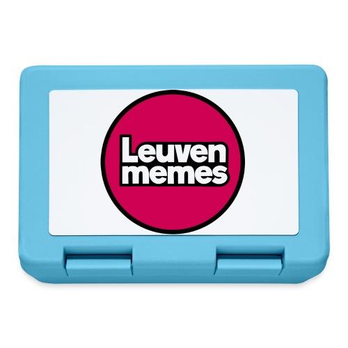 Logo LeuvenMemes - Boîte à goûter.