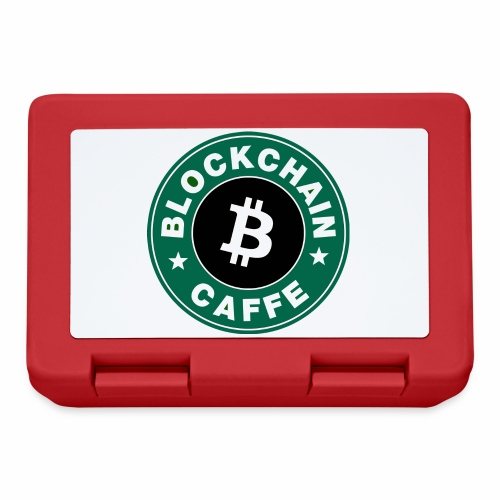 BlockChain Caffè Logo - Lunch box