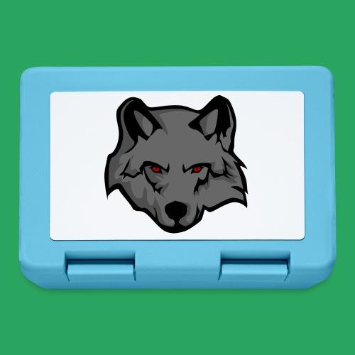 wolf logo - Lunch box