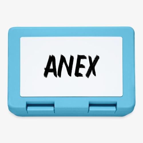 V-neck T-Shirt Anex black logo - Lunchbox
