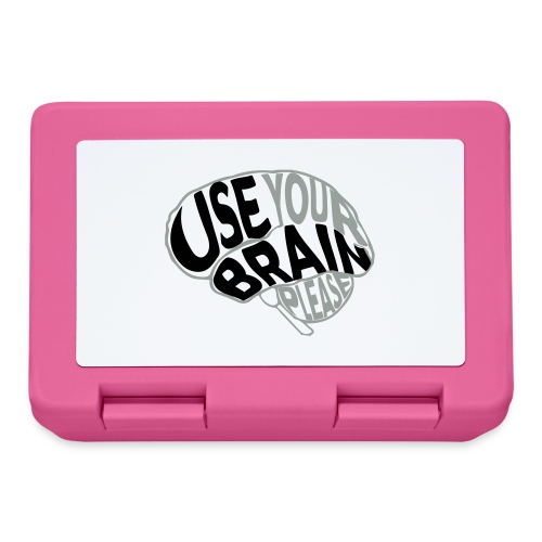 Use your brain - Lunch box