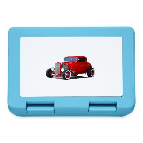 Hot rod red car - Broodtrommel