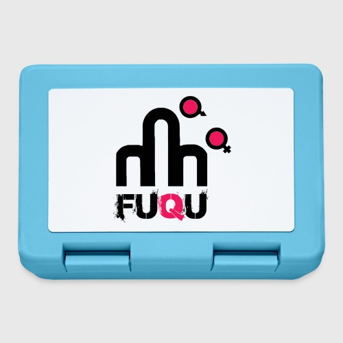 T-shirt FUQU logo colore nero - Lunch box