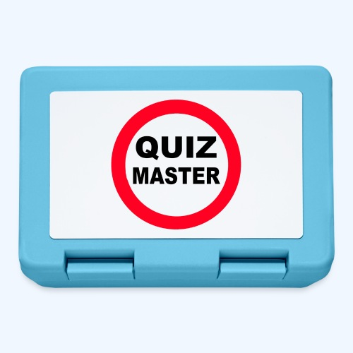 Quiz Master Stop Sign - Lunchbox
