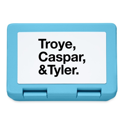 TROYE CASPAR AND TYLER - YOUTUBERS - Lunch box