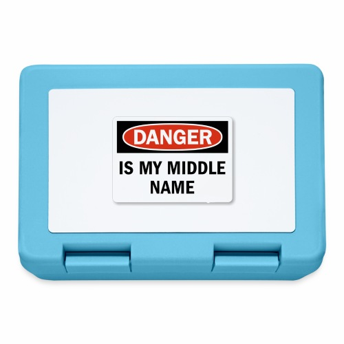 Danger is my middle name - Lunchbox