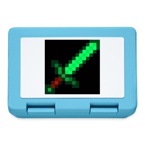 green emerald MCPE sword - Lunchbox