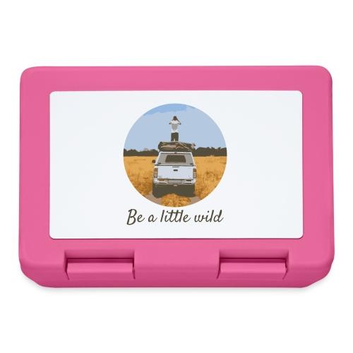 Be a little wild - Broodtrommel