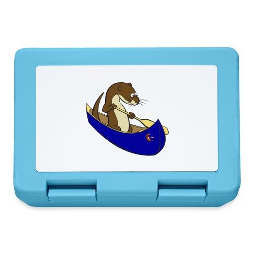 bluecanoewithsticker - Lunchbox