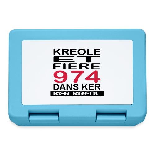 Kreole et Fiere - 974 ker kreol - Boîte à goûter.