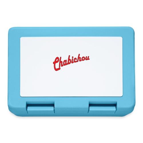 Chabichou - Boîte à goûter.