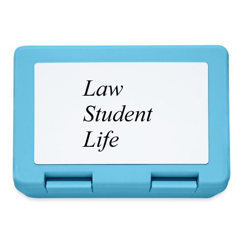 Law Student Life - Lunch box