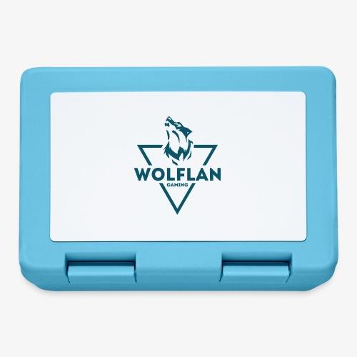 WolfLAN Logo Gray/Blue - Lunchbox