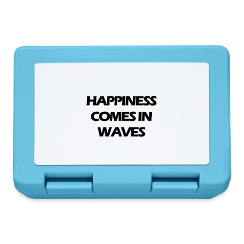 Happiness comes in waves - Matlåda