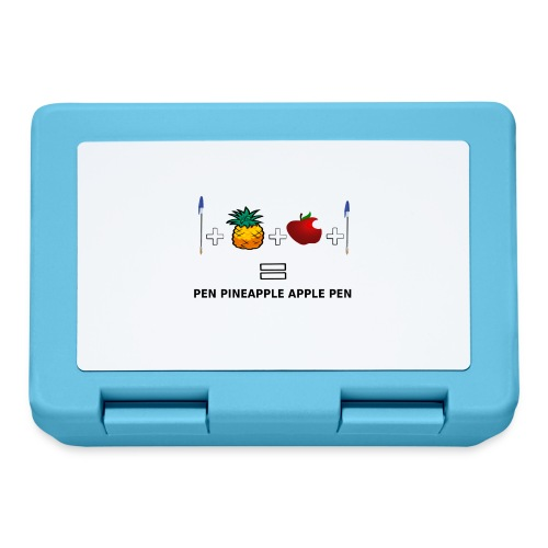 PINEAPPLE APPLE PEN - Lunch box