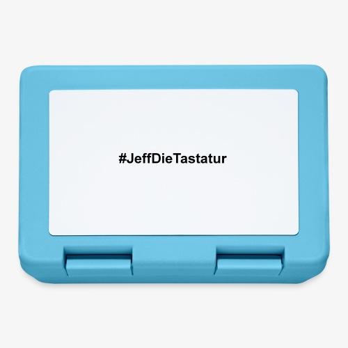 hashtag jeffdietastatur schwarz - Brotdose