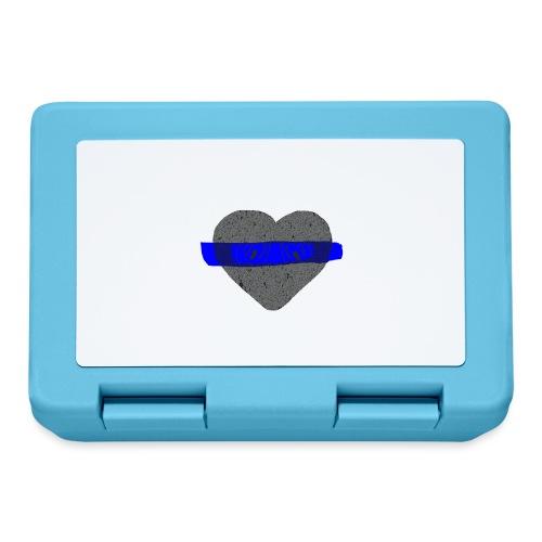 serduszko blu - Pudełko na lunch