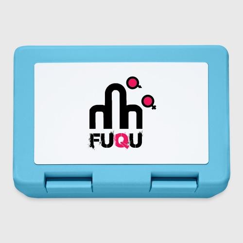 T-shirt FUQU logo colore nero - Lunch box