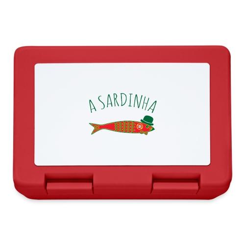A Sardinha - Bandeira - Boîte à goûter.