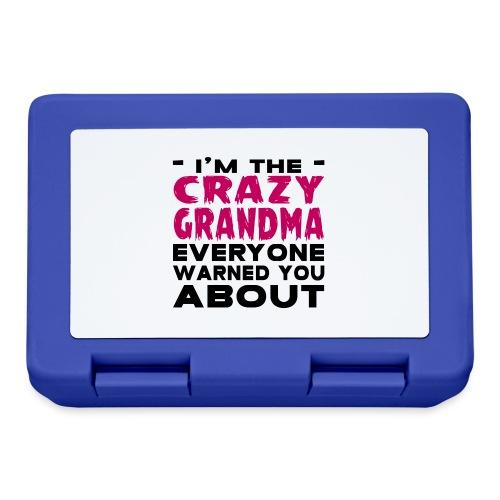 Crazy Grandma - Lunchbox