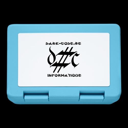Dark-Code Black Gothic Logo - Boîte à goûter.