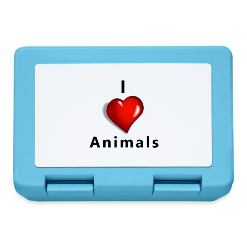 i love animals - Broodtrommel