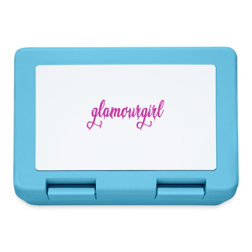 Glamourgirl dripping letters - Broodtrommel