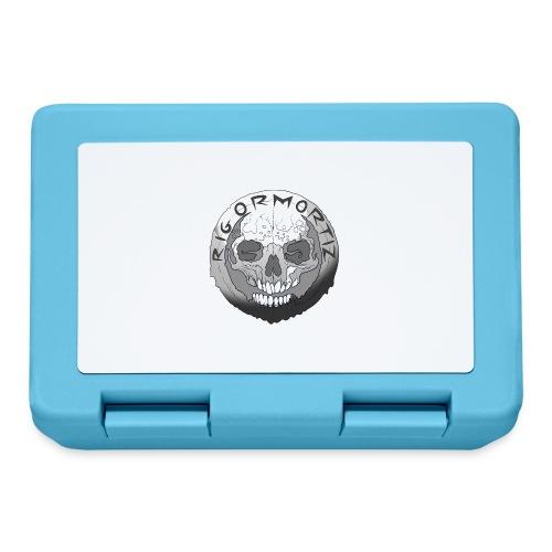 Rigormortiz Black and White Design - Lunchbox