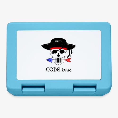 Code Bar couleur - Boîte à goûter.