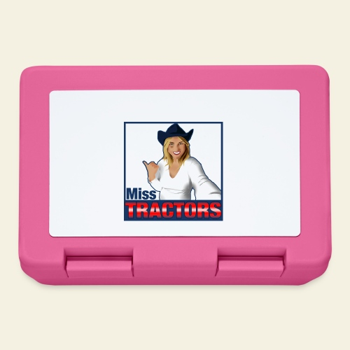 Miss Tractors Logo - Lunch box