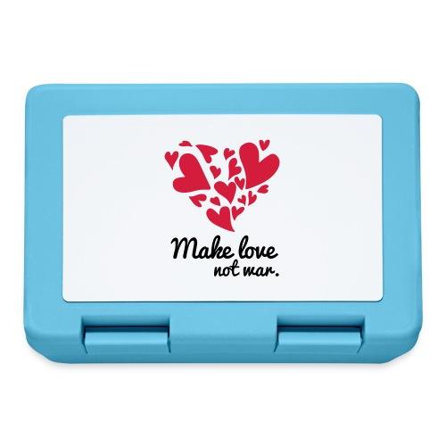 Make Love Not War T-Shirt - Lunchbox