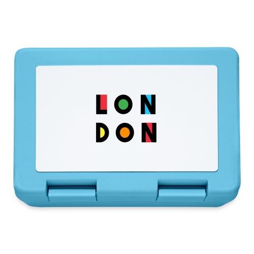 Vintage London Souvenir - Retro Modern Art London - Brotdose