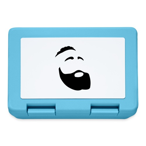 Il Barba, the Beard black - Lunch box