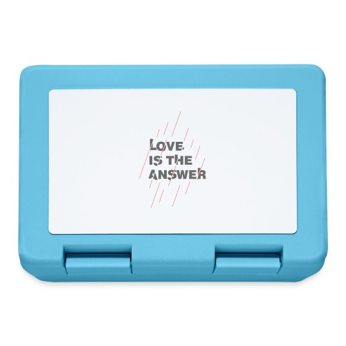 LOVE IS THE ANSWER 2 - Lunch box