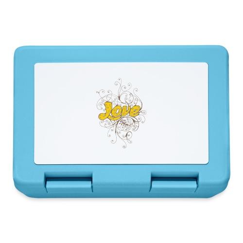 Scritta Love con decorazione - Lunch box