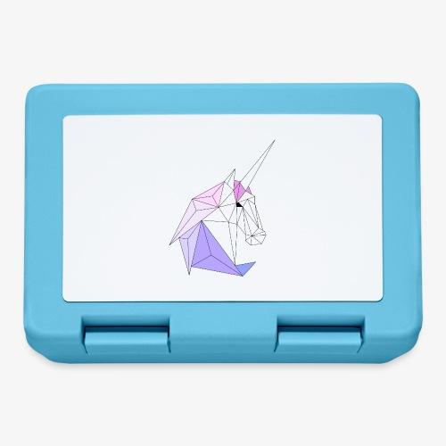 Einhorn geometrie unicorn - Brotdose