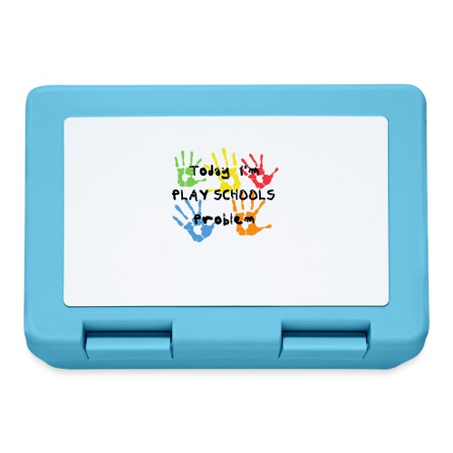 Today I'm Play Schools Problem - Lunchbox