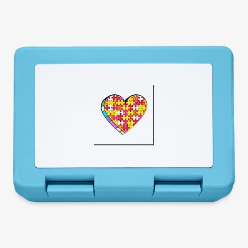 Serce Puzzle - Pudełko na lunch