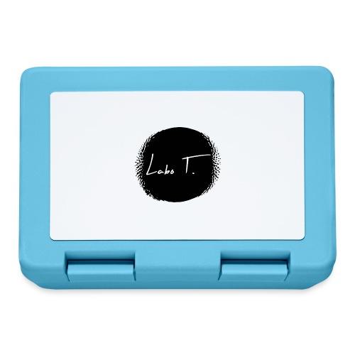 Logo Labo T. - Boîte à goûter.
