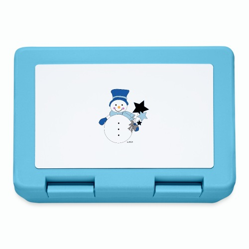 Snowtime-Blue - Brotdose