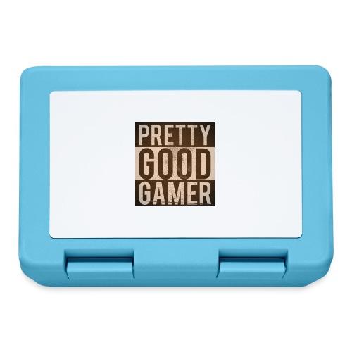 PRETTY GOOD GAMER. - Lunchbox
