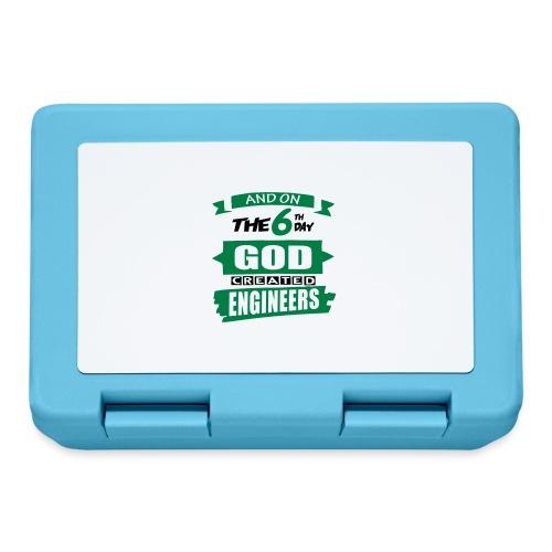 God Created Engineers - Lunchbox