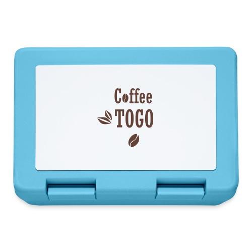 Coffee To Go Togo Kaffee lustig Sprüche - Brotdose