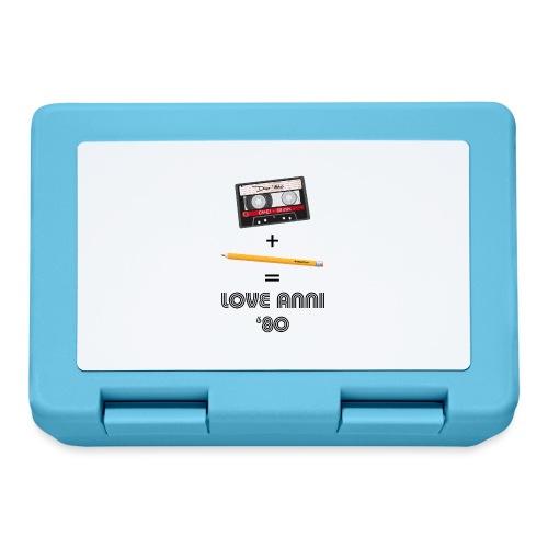 Maglietta love anni 80 - Lunch box