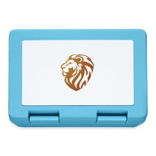 Bronze lion - Boîte à goûter.
