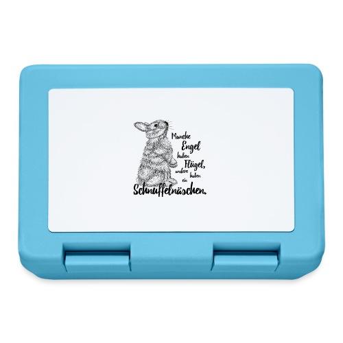 Kaninchen Hasen Zwergkaninchen Engel Liebe - Brotdose