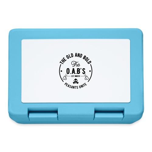 OAB unite black - Lunchbox